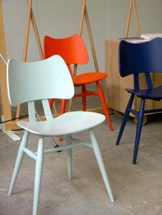 Ercol butterfly chairs via remodelista - good for the kitchen table?