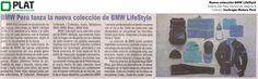 Inchcape Motors: Nueva colección de BMW LifeStyle en el diario Del País de Perú (04/10/16)
