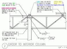 Steel Detail: Girder to Column