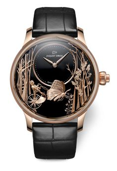 TimeZone : Industry News » N E W  M o d e l - Jaquet Droz Loving Butterfly Automaton