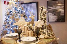 mesa posta natal, ano novo, mesa prata, tablescape decor, christmas, new year