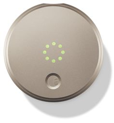 August Smart Lock   Champagne color
