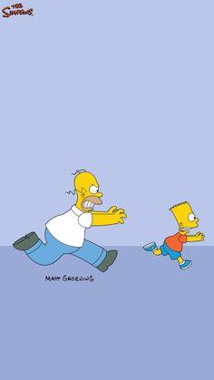 Bart Simpson New Horizons Simpson Wallpaper Iphone, Cartoon Wallpaper, Iphone Wallpaper, Simpsons Drawings, Simpsons Art, Samsung Wallpapers, Cute Wallpapers, Homer Simpson, Futurama