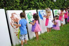 idea para entretener a los niños en un cumple