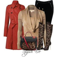 #red #print #camel #black #amazing #boots #highheels