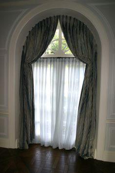 Arched Window Treatments Glamorous Curtains For High Windows Half Moon Arch