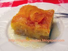 Greek Desserts, Greek Recipes, Portokalopita Recipe, Cookbook Recipes, Cooking Recipes, Cookie Dough Pie, Quiche, French Toast, Sweets