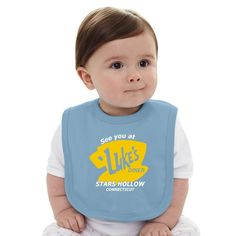 This baby bib keeps your baby clean and stylish. It would help dad & mom to feed thier lovely ones without any mess around. It's a great choice for any baby gift. - 5.5 oz., 100% combed ring spun cott