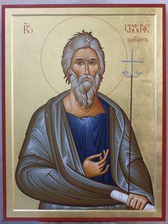 St Andrews, Orthodox Icons, My Works, Saints, Georgian, Life, Georgian Language