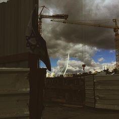 'Over Construction' Jerusalem Israel November 2015 #iphoneonly #vscocam