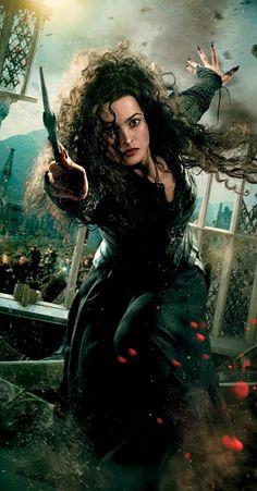 Helena Bonham Carter as Bellatrix LeStrange from the Harry Potter movie series Harry Potter Cosplay, Harry Potter Cast, Harry Potter Characters, Harry Potter Universal, Harry Potter World, Movie Characters, Anita Blake, Helena Bonham Carter, Helena Carter