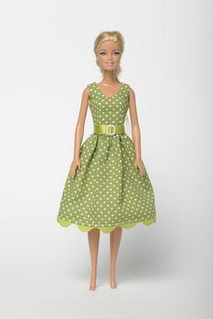 e6aa33472f Items similar to Handmade Barbie doll clothes, Barbie dresses, Barbie  outfit -