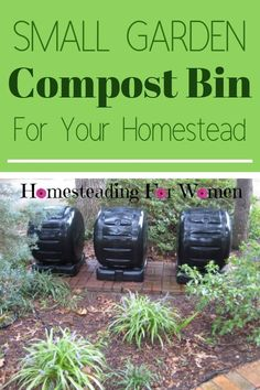 Small Garden Compost Bin easy to set up for your garden leftovers #smallgardencompostbin #compostingforgarden #gardencomposter