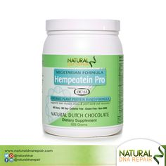 Our Hempeatein Pro is hypoallergenic and well-tolerated without gastrointestinal side effects. #NaturalDNARepair #Health #AC11