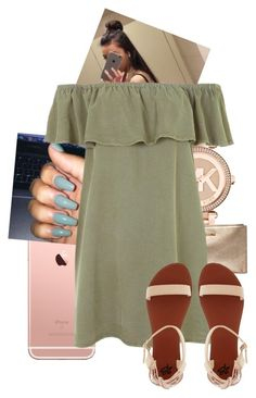 """""""All Day.."""" by kaykayxolove ❤ liked on Polyvore featuring Michael Kors, MICHAEL Michael Kors, Topshop and 2b bebe"""