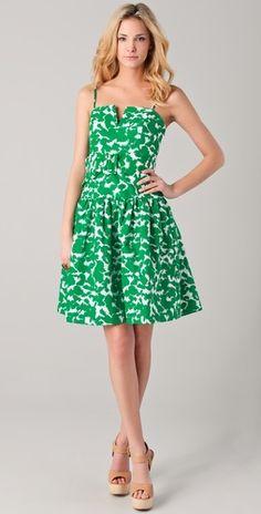 Milly    Sarah Twirl Print Dress  Style #:MILLY40256  CA$ 410.00 | $396.00