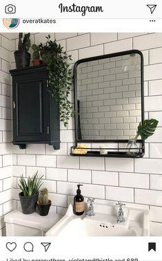 small Bathroom Decor Pflanzen im Bad . Decor, Bathroom Styling, Boho Style Bathroom, House Design, Sweet Home, Bathroom Decor, Amazing Bathrooms, House Interior, Home Deco