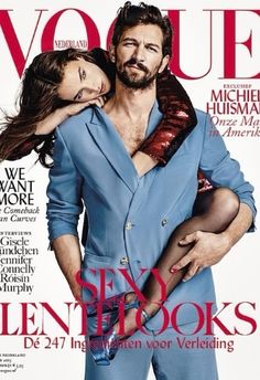 The first male cover star in the history of Vogue Netherlands