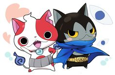 Yo-kai Watch | Buchinyan and Darknyan