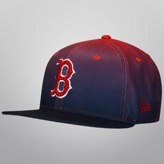 88ccae1976c96 Gorra New Era 5950 MLB Boston Red Sox Diamond Gradation - Rojo y Azul Marino