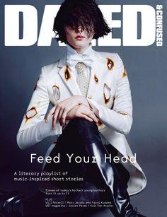 Zenia Sevastyanova Smolders in Giles for Dazed & Confuseds July 2012 Cover