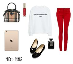 """""""❤️"""" by marthepoes on Polyvore featuring mode, Burberry, MANGO, Smith & Cult, Chanel en Paige Denim"""