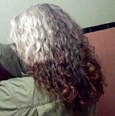 What my hair is gonna look like in a year or so!!