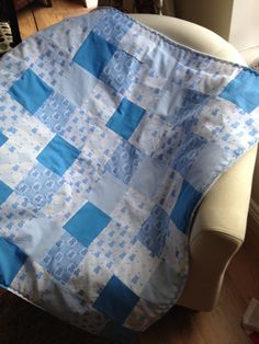 Ideal for a cot, pram or buggy. (P&P not incl) Cot, Beautiful Hands, Decorating Your Home, Shabby Chic, Rustic, Quilts, Blanket, Fabric, Handmade