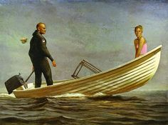 Bo Bartlett, 1955 ~ Realist Figurative painter | Tutt'Art@ | Pittura * Scultura * Poesia * Musica |