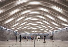 Galeria de Expansão de Esportes e Artes no Colégio Gammel Hellerup / BIG - 5