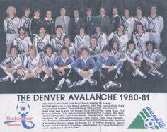 1980-81 Denver Avalanche Team Picture