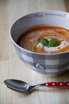 Crema di pomodori e carote (calda o fredda, è sempre buona!)