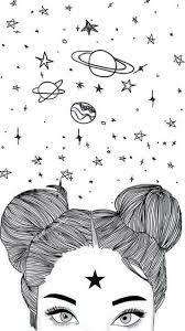 """Результат пошуку зображень за запитом """"desenhos de meninas tumblr facil para colorir"""""""