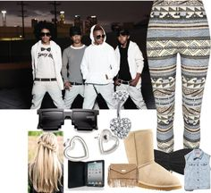 """""""Meetinqq Mindless Behavior"""" by taylorsomindless ❤ liked on Polyvore"""