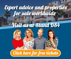Visit us at stand at A Place In The Sun Live in Manchester March 2019 till Manchester Central, Free Tickets, Screen Test, Tv Presenters, Convention Centre, Travel Information, Looking Forward To Seeing, All Over The World, Presentation