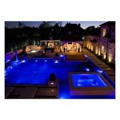 15 Amazing Poolside Area Designs ❤ liked on Polyvore featuring house, rooms, pool, pictures and backgrounds