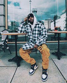 Black Men Street Fashion, Moda Retro, Stylish Mens Outfits, Mode Outfits, Mode Style, Mens Clothing Styles, Urban Fashion, Mens Fashion, Fashion Killa