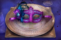 """$32 Mike Savad - Guess who's coming over for dinner? That's your it's your aunt Floyd. With his/her hideous face, the only time you can invite """"her"""" is during Mardi Gras, because of the mask. It's to hide that face of his, I mean hers. It doesn't hide the mustache, or those Groucho Marx eyebrows, though this mask will make them appear like there are two, and not just one long one. Tell her to keep the mask... as a gift.  #savad #mardiGras #fatTuesday #masked #mask #uglyGuest #dinner"""