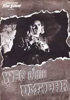 A Year of Spy Films 350/365 Weg ohne Umkehr (1953 West Germany) aka No Way Back   The International Spy Film Guide Score: 8/10  #isfg #spyfilmguide #ironcurtain #ddr #stasi #spymovie #spyfilm #eastgermany https://www.kisskisskillkillarchive.com