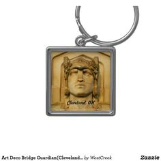 Art Deco Bridge Guardian(Cleveland) Keychain