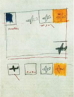 'Airplanes' by Jean-Michel Basquiat, 1981