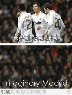 Real Madrid… wait what?