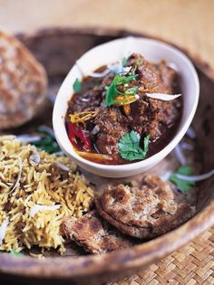 Rogan josh: spicy slow-cooked lamb curry from Jamie Oliver - 680 calories