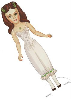 Paper Dolls~Scarlett - Bonnie Jones - Álbuns da web do Picasa Paper Clothes, Doll Clothes, Paper Toys, Paper Crafts, Paper Dolls Printable, Paper People, Scarlett O'hara, Gone With The Wind, Vintage Paper Dolls