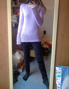 Free Knitting Pattern - Women's Sweaters: Security Sweater