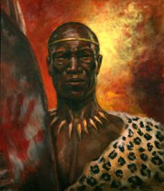 By 1818 a new leader Shaka gained authority among the Nguni people. He created a formidable military force of regiments organized on lineage and age lines. His chiefdom became the center of a new political and military organization that absorbed or destroyed rivals. In 1828 he was assassinated but his successors ruled over the growing polity. The rise of the Zulu marked a time of wars and wandering. The Zulus were eventually defeated during the 1870's by the British.