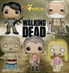 The Walking Dead Funko POP Vinyl I wanna get one of these to add to my collection
