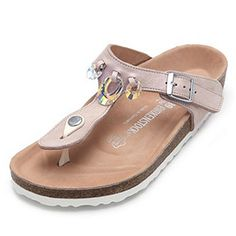 birkenstock premium gizeh swarovski crystal wide fit chain sandal. Black Bedroom Furniture Sets. Home Design Ideas