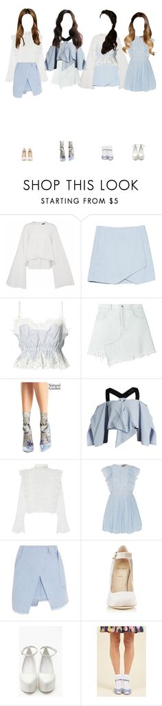 """U (당신) Show Champion"" by girlcrush-official ❤ liked on Polyvore featuring E L L E R Y, Sacai, Sandy Liang, OROBLU, Roland Mouret, Sea, New York, Steve J & Yoni P and Alexander White"