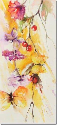 Angela Legrenzi. Acquerelli, pittura ad olio e porcellane. Ospitaletto: Acquerello